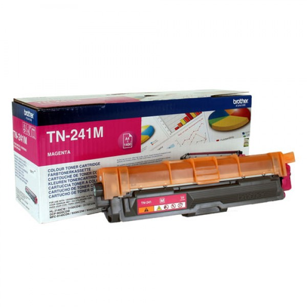 Cartouche de toner Magenta Original Brother TN-241M