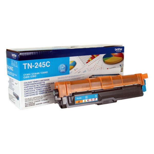 Brother TN-245C Toner laser 2200pages Cyan cartouche toner et laser
