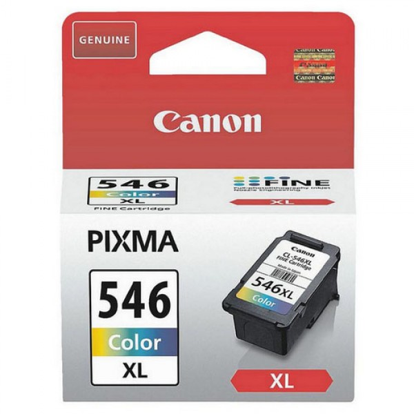Canon CL-546XL Cyan, Magenta, Jaune cartouche d'encre