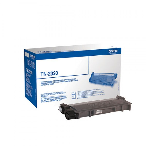 Cartouche de toner Noir Original Brother TN-2320