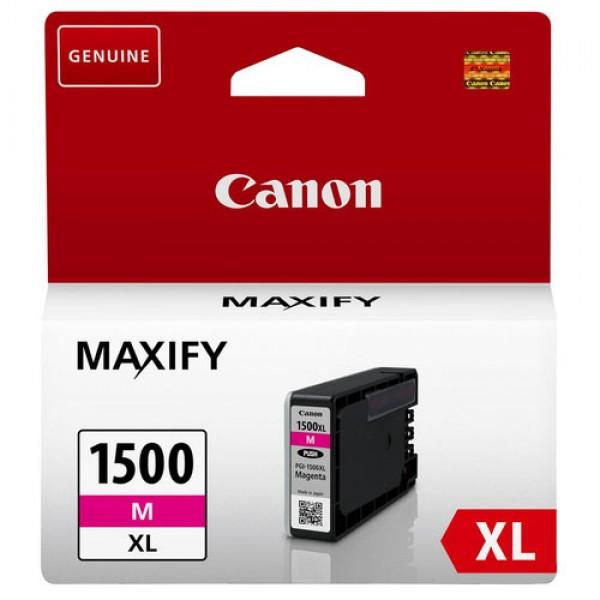 Cartouche d'encre Magenta Original Canon 9194B001 (PGI-1500XL M)