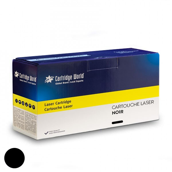 Cartouche de toner Noir Cartridge World compatible Oki 44844616