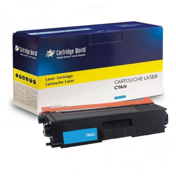 Cartouche de toner Cyan Cartridge World compatible Brother TN-421 / TN-423 / TN-426