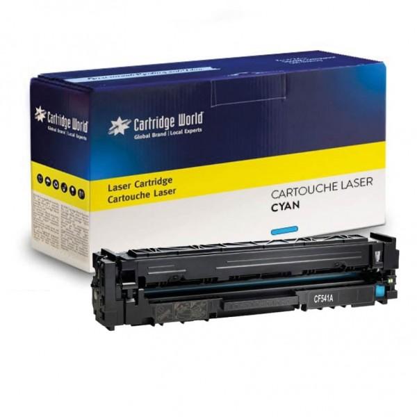 Cartouche de toner Cyan Cartridge World compatible HP 203X (CF541X)