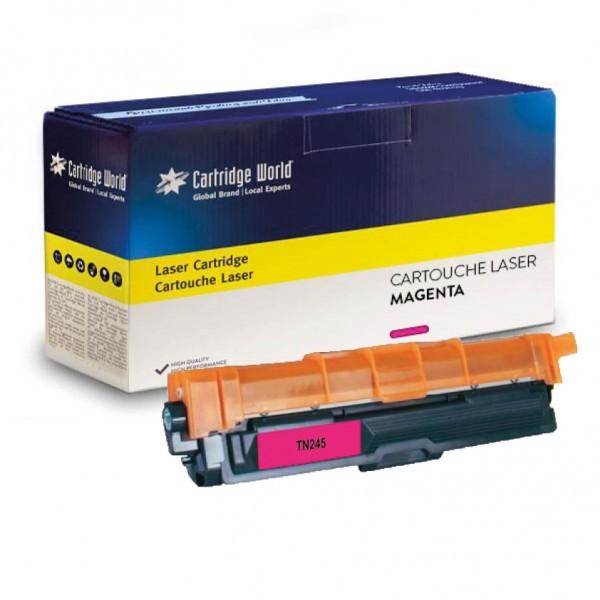 Cartouche de toner Magenta Cartridge World compatible Brother TN241/245