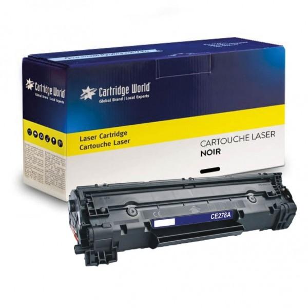 Cartouche de toner Noir Cartridge World compatible HP 78A / Canon 278