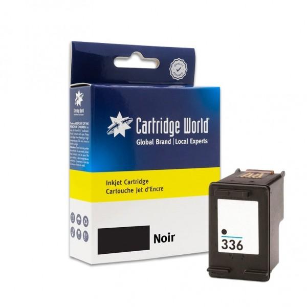 Cartouche d'encre Noir Cartridge World compatible HP 336 (C9362EE)
