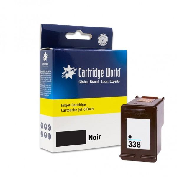 Cartouche d'encre Noir Cartridge World compatible HP 338 (C8765EE)