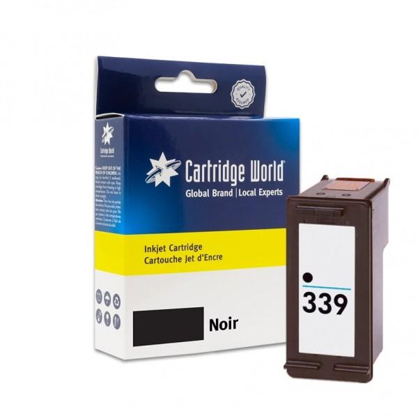Cartouche d'encre Noir Cartridge World compatible HP 339 (C8767EE)