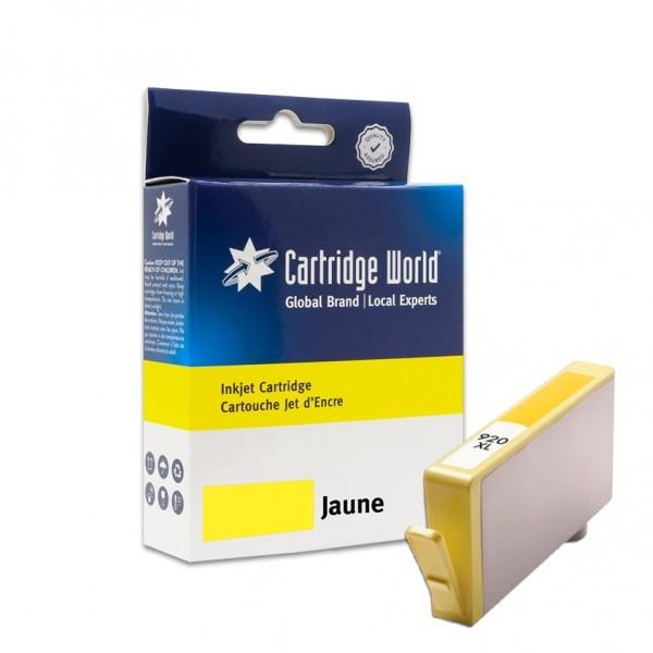 Cartouche d'encre Jaune Cartridge World compatible HP 920XL (CD974AE)