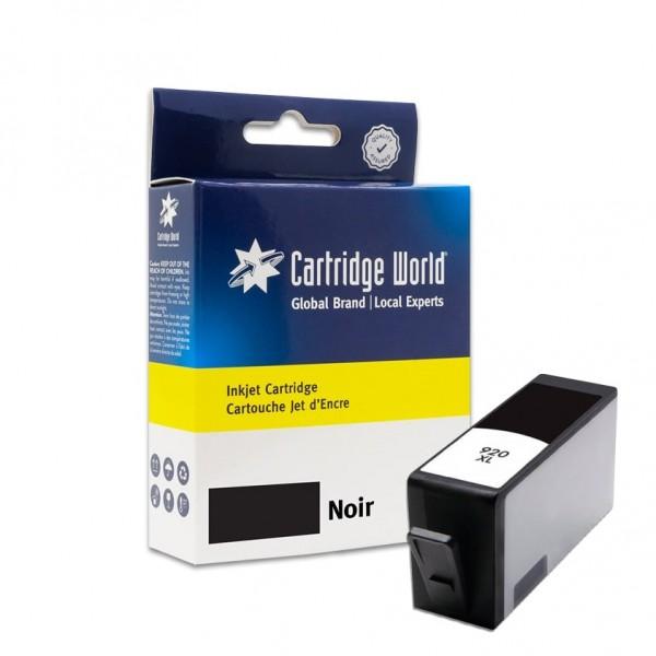 Cartouche d'encre Noir Cartridge World compatible HP 920XL (CD975AE)