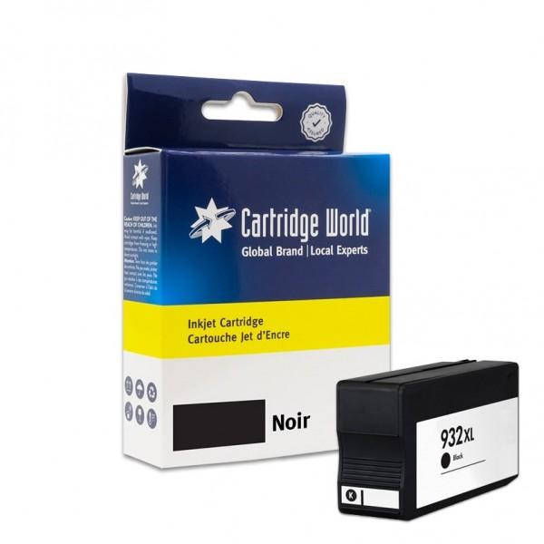 Cartouche d'encre Noir Cartridge World compatible HP 932XL (CN053A)
