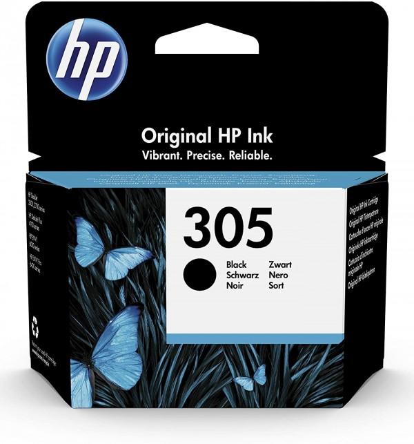 Cartouche d'encre Noir Original HP 305 (3YM61AE)