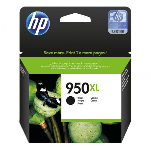 Cartouche d'encre noire originale HP CN045AE (950XL)