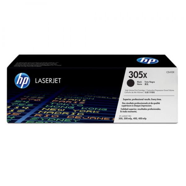 Cartouche de toner grande capacité Noir Original HP CE410X (305X)