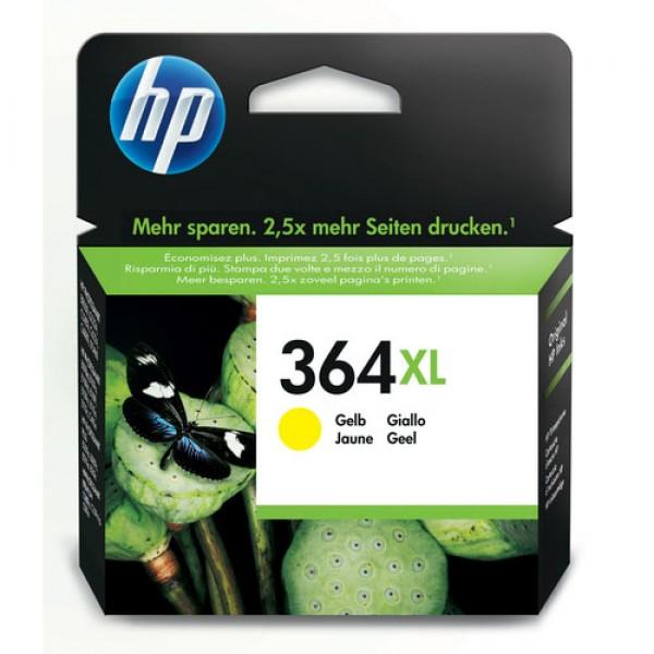 Cartouche d'encre Jaune Original HP CB325EE (HP 364XL)