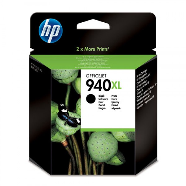 Cartouche d'encre Noir Original HP 940XL (C4906AE)