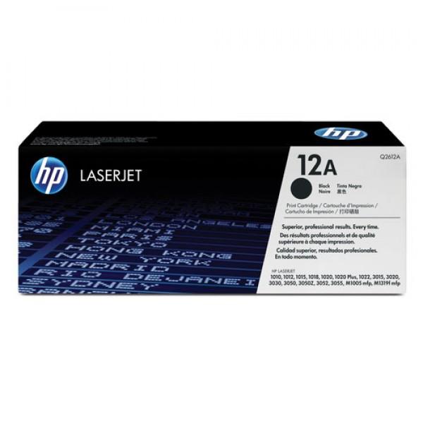 Cartouche de toner Noir Original HP Q2612A (HP 12A)