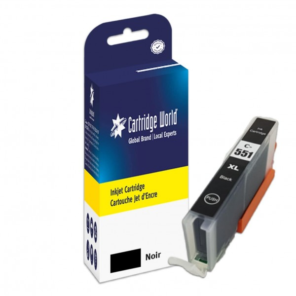 Cartouche d'encre Noir Cartridge World compatible Canon CLI-551XL
