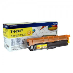 Cartouche de toner Jaune Original Brother TN245Y