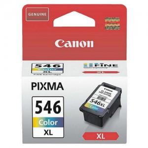 Pack de Cartouches d'encre 3 couleurs (1 Cyan, 1 Magenta, 1 Jaune) Original Canon 8288B001 (CL-546XL)