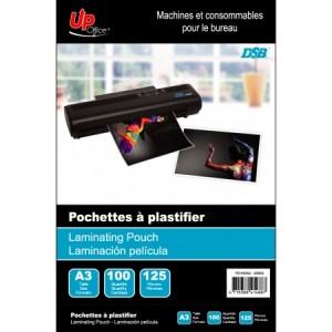 100 Pochettes A3 125mm pour Plastifieuse