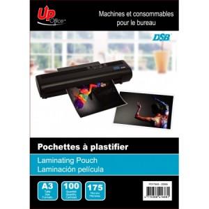100 Pochettes A3 175mm pour Plastifieuse
