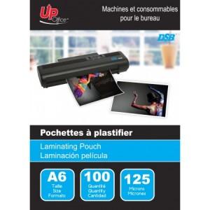 100 Pochettes A6 125mm pour Plastifieuse