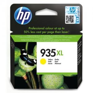 Cartouche d'encre Jaune Original HP C2P26AE (HP 935XL)