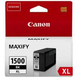 Cartouche d'encre Noir Original Canon 9182B001 (PGI-1500XL BK)