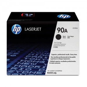 HP 90A toner LaserJet noir authentique