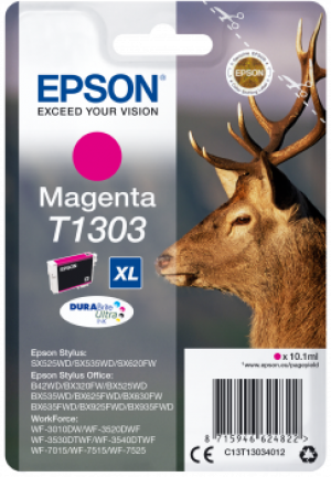 Cartouche d'encre Magenta Original Epson T1303XL Cerf