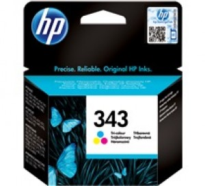 Cartouche d'encre 3 couleurs Original HP 343 (C8766EE)