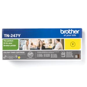 Cartouche de toner Yellow Original Brother TN-247BK