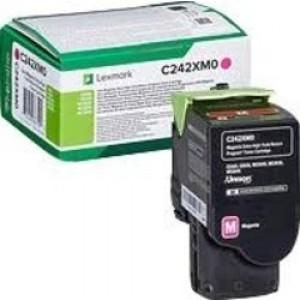 Cartouche Toner Magenta Original Lexmark C242XM0