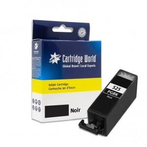 Cartouche d'encre Noir Cartridge World compatible Canon PGI-525