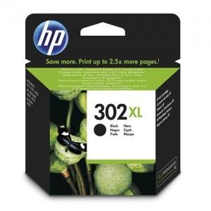 Cartouche d'encre Noir Original HP F6U68AE (HP 302XL)