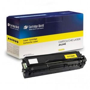Cartouche de toner Jaune Cartridge World compatible Samsung CLT-Y504S