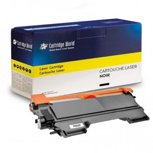 Cartouche de toner Noir Cartridge World compatible Brother TN2220/TN2210