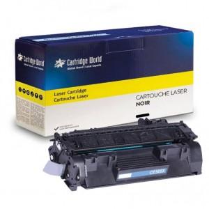 Cartouche de toner Noir Cartridge World compatible Canon CE505X/EP719
