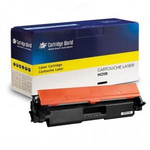 Cartouche de toner Noir Cartridge World compatible HP 17A (CF217A)
