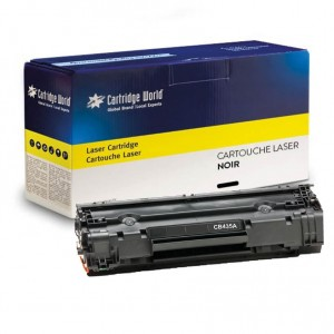 Cartouche de toner Noir Cartridge World compatible HP CB435A (HP 35A)