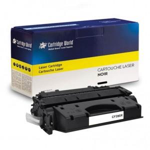 Cartouche de toner Noir Cartridge World compatible HP CF280X