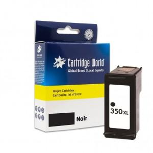 Cartouche d'encre Noir Cartridge World compatible HP 350XL (CB336EE)