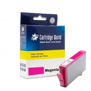 Cartouche d'encre Magenta Cartridge World compatible HP 364XL (CN686)