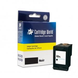Cartouche d'encre Noir Cartridge World compatible HP 62XL (C2P05AE)