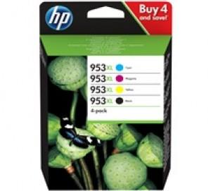 Cartouches d'encre pack (4 couleurs) Original HP953XL