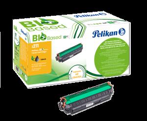 Cartouche de toner Noir Pelikan Bio Based compatible HP CB436A