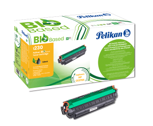 Cartouche de toner Noir Pelikan Bio Based compatible HP CE278A