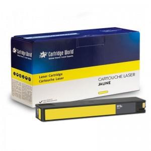 Cartouche d'encre jaune Cartridge World compatible HP973X Pagewide